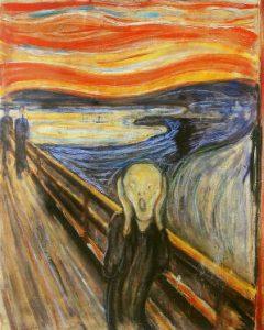 ムンクの「叫び」